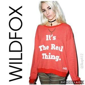 Wildfox The Real Thing Oversized Sweatshirt